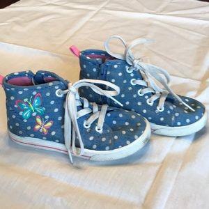 Carter's girls hightop shoe